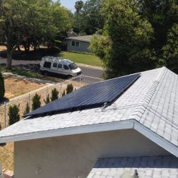 Completion of solar
